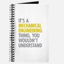 Mechanical Engineering Thing Journal