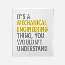 Mechanical Engineering Thing Throw Blanket