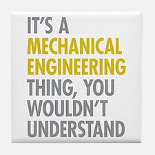 Mechanical Engineering Thing Tile Coaster