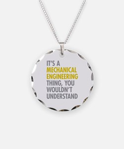 Mechanical Engineering Thing Necklace