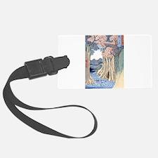 Monkey Bridge Kai, Hiroshige Luggage Tag