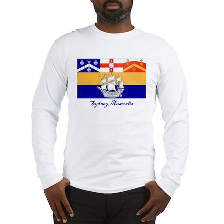 Sydney, AU Flag Long Sleeve T-Shirt