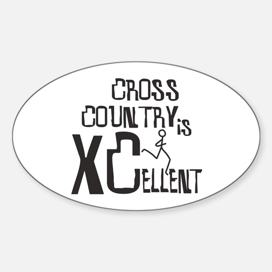 XC Cross Country Bumper Stickers