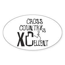 XC Cross Country Sticker