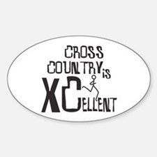 XC Cross Country Stickers