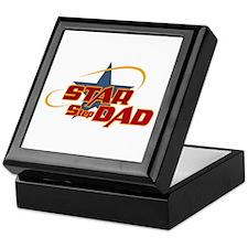Star Step Dad Keepsake Box