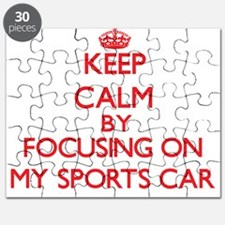 Keep Calm by focusing on My Sports Car Puzzle