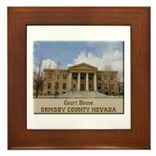Ormsby County Court House Framed Tile