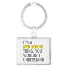 Its A Med School Thing Landscape Keychain