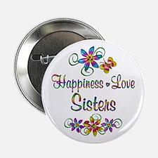 "Sister Love 2.25"" Button"