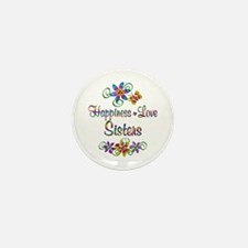 Sister Love Mini Button (10 pack)