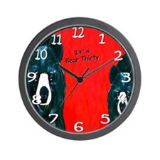 Bear thirty Wall Clock