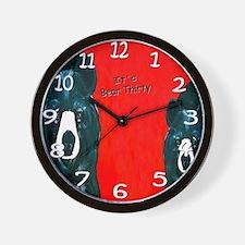 Bear thirty Wall Clock