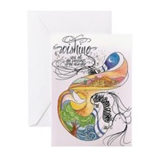 Symbols Of Sanctity Greeting Cards (Pk of 10)