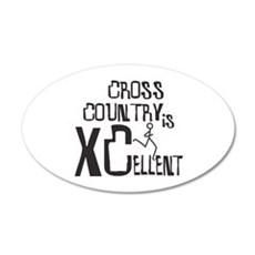 XC Cross Country Wall Decal