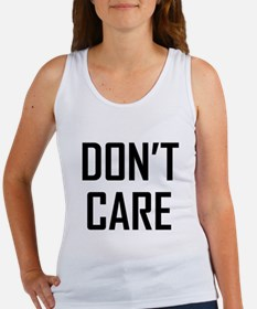 DON'T CARE Tank Top