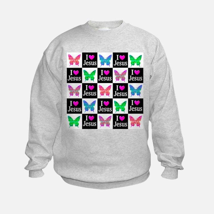 JESUS LOVES ME Sweatshirt
