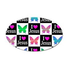 JESUS LOVES ME Wall Decal