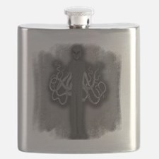 Slender Man with Tentacles Flask
