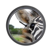 One-Eye Zebra Wall Clock