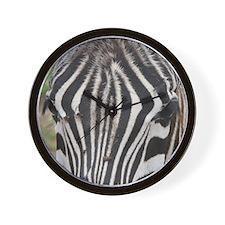 "Zebra ""Meaningful Eye Contact"" Wall Clock"