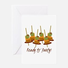 Ready to Party Greeting Cards