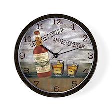 let's get drunk Wall Clock