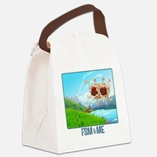 Funny Pastafarian Canvas Lunch Bag