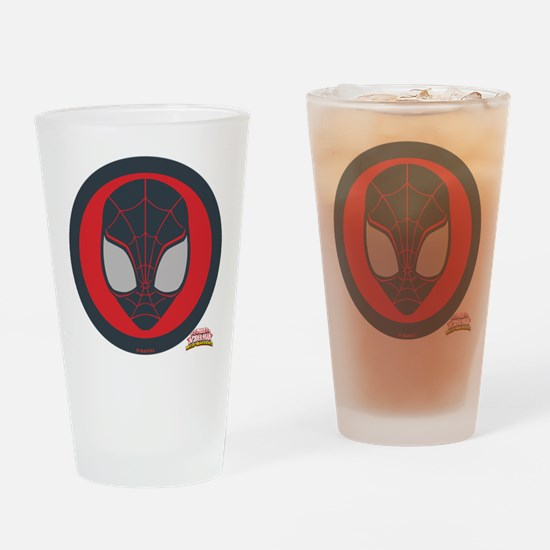 Ultimate Spider-Man Miles Morales I Drinking Glass