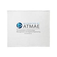 Atmae_accreditation_logo_url.jpg Throw Blanket
