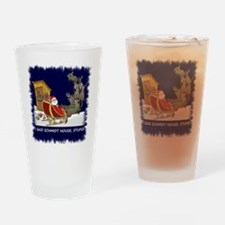 Schmidt House Funny Christmas Drinking Glass