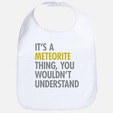 Its A Meteorite Thing Bib