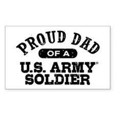 Proud U.S. Army Dad Decal