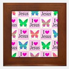 GLORY TO GOD Framed Tile