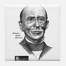 William Lloyd Garrison Tile Coaster
