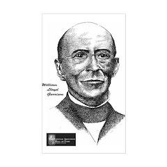 William Lloyd Garrison Rectangle Decal