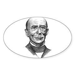 William Lloyd Garrison Oval Decal