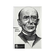 William Lloyd Garrison Rectangle Magnet