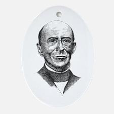 William Lloyd Garrison Oval Ornament