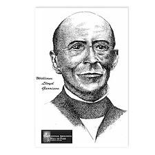 William Lloyd Garrison Postcards (Package of 8)