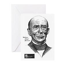 William Lloyd Garrison Greeting Cards (Package of
