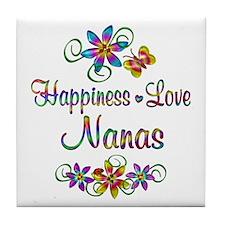Nanas Love Tile Coaster
