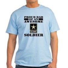 Proud U.S. Army Dad T-Shirt