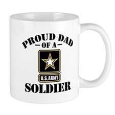 Proud U.S. Army Dad Small Mug