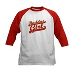 Daddys Girl Kids Baseball Jersey