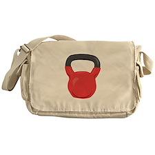 Kettlebell Messenger Bag