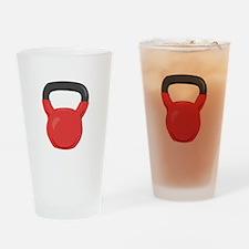 Kettlebell Drinking Glass