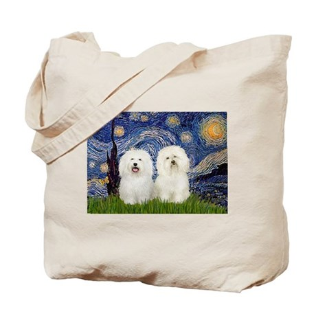 Starry Night / 2 Bolognese Tote Bag