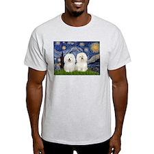 Starry Night / 2 Bolognese T-Shirt