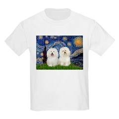 Starry Night / 2 Bolognese T-Shirt